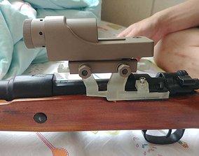D-BOY 98K airsoft rifle 1913 rial 3D printable model