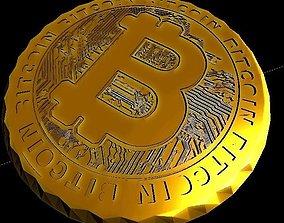 3D print model Bitcoin Coin or Coaster -- Free