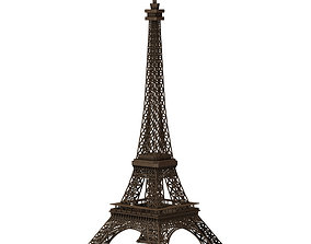 Eiffel Tower for 3ds obj and fbx exterior