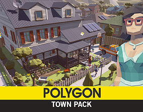 POLYGON - Town Pack 3D model