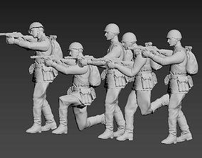ussr soldiers 3D print model russia