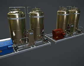 Chemical Container 6 3D model