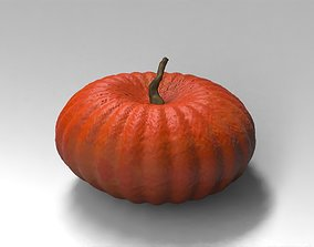 3D asset 30 low poly pumpkins