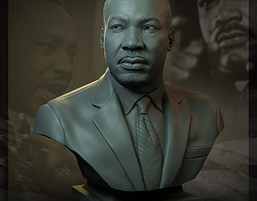 3D printable model Martin Luther King