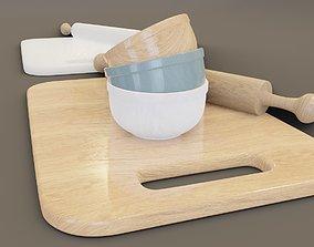 kitchen utencils 3D model