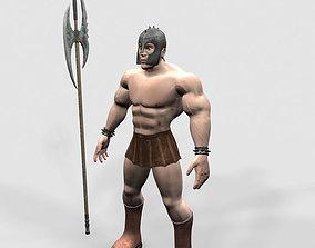 Gladiator lance 3D model