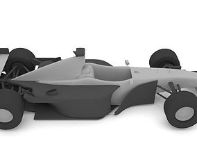 Formula 1 Simplfied 3D asset