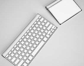 3D model CGAxis Keyboard with Touchpad
