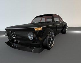 classic car 2002 3D model