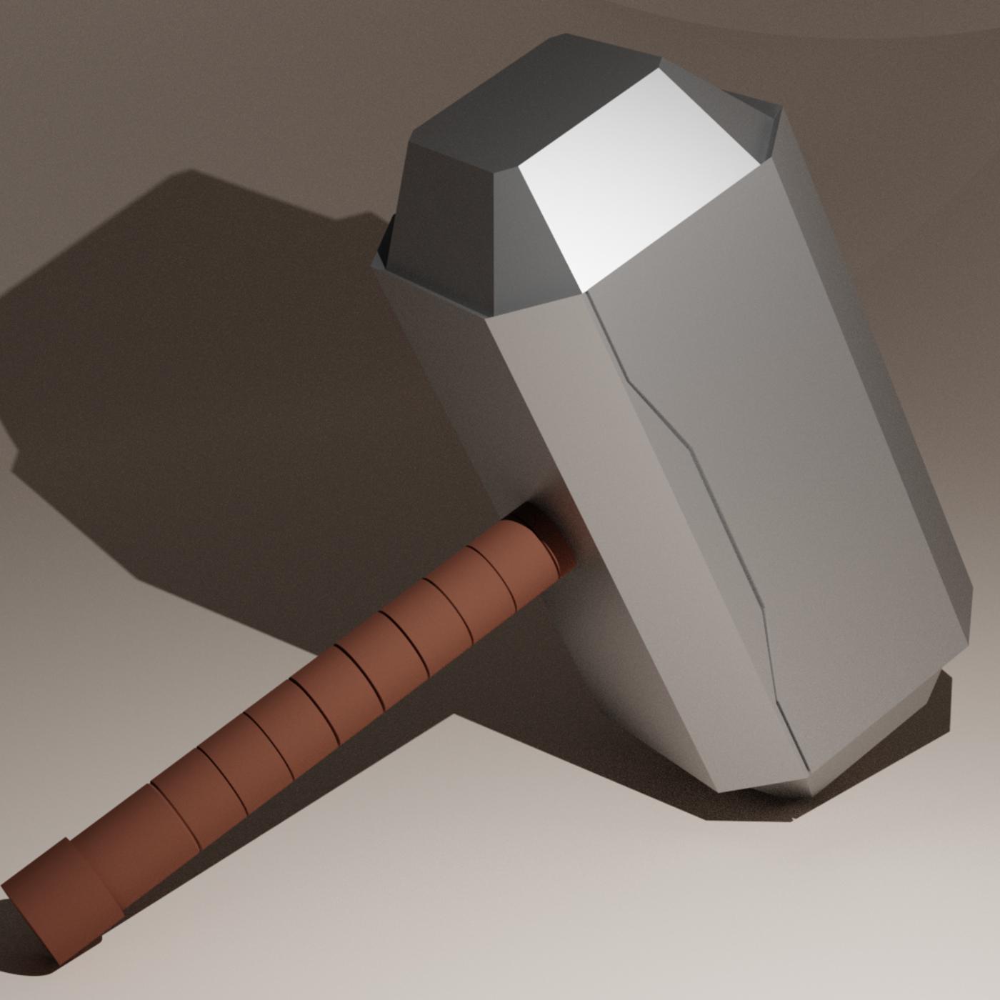 Mjölnir ( Thor's Hammer)