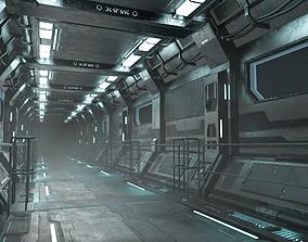 Sci-Fi Modular Corridor Version1 3D model