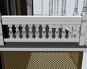 3D decoration Baluster