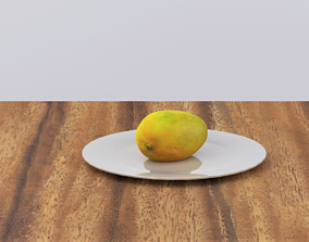 3D model VR / AR ready Mango