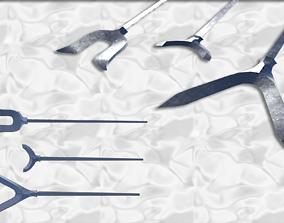 japanese arrow head set 1 3D print model