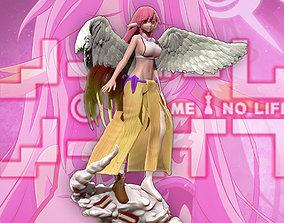 No Game No Life - Jibril 3d print figurine