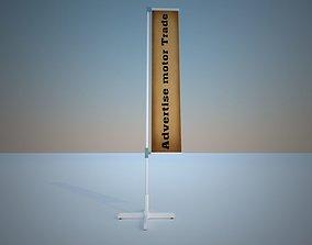 3D model Flag Reklame MODUL