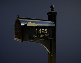 3D model Exclusive Mailbox game-ready asset
