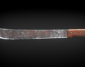 Rusty Machete 3D