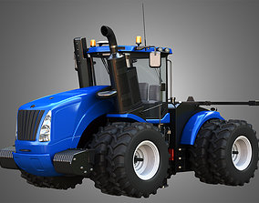 NH - T9 Articulated Tractor 3D