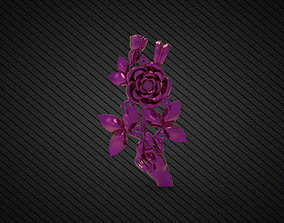 New Model rose locket gold 3gm rhino matrix