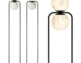 3D model TRIBECA Floor lamp By Alma light