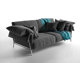 fabric 3D model Chat 12 Sofa