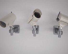 3D model Security Cam