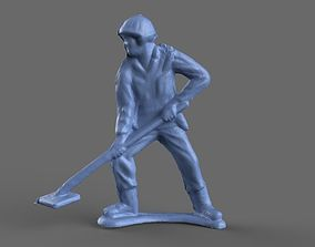 3D model Green Army Men Minesweep