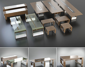 Mobica LUXEMBOURG Office set 3D model