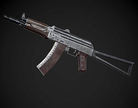 VR / AR ready AK-74U AAA FPS Game Ready Weapon