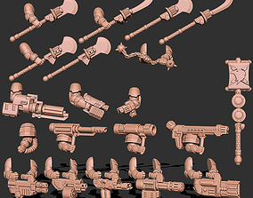 Tempest Warriors - Weapons and Upgrade Pack 3D print model