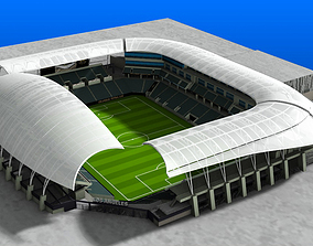 3D model Banc of California Stadium