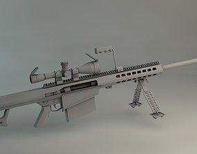 Barrett 3D Model rigged