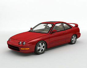 3D model 1998 Acura Integra R Coupe