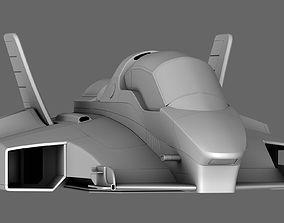 3D model Sci-Fi Race Car Future Formula