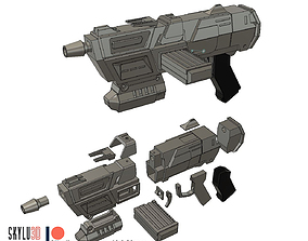 DC-17M Blaster Rifle 3D printable model