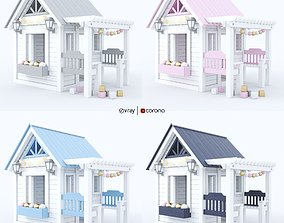 Playhouse - Wendy house for children 3D model