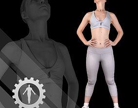 3D Female Scan - Olga 97