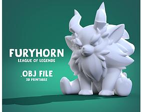 FURYHORN league of legends 3D print model