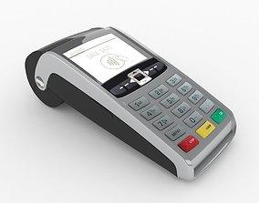 POS payment terminal 3D