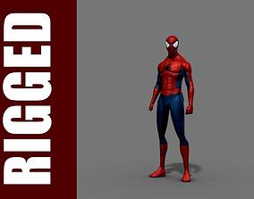 Spider-Man Rig 3D model