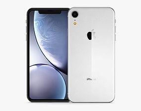 3D model Apple iPhone XR White