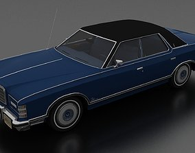LTD Landau 4dr 1975 3D asset VR / AR ready