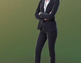 Ramona 10241 - Standing Business Woman 3D model