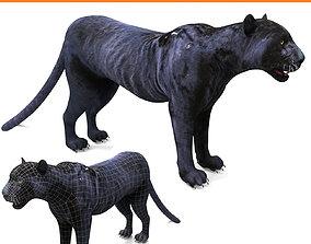 VR / AR ready Black Panther 3D Models game