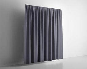 3D model Presentation Curtain