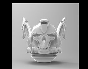 3D printable model space bat helmet
