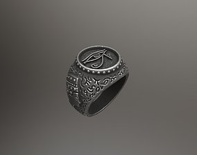 - The Eye of Horus - Ring for 3d print -