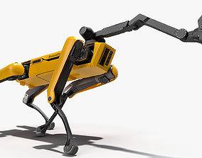 3D model SpotMini Boston Dynamics with Manipulator
