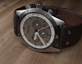 3D model Watch with a fictional brand